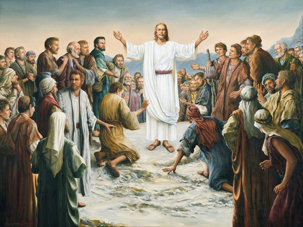 復活したイエス