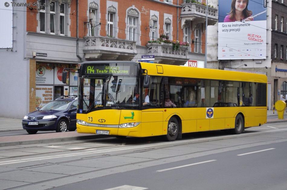 グリヴィツェのバス