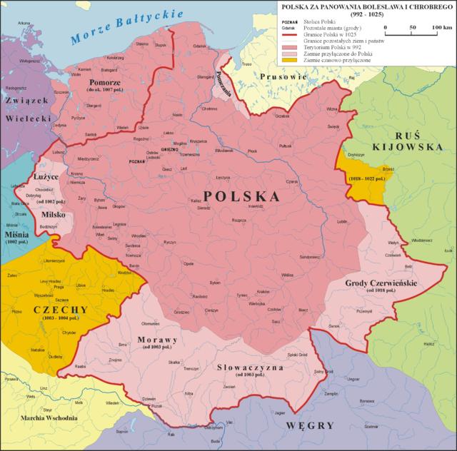 ボレスワフ1世の治世