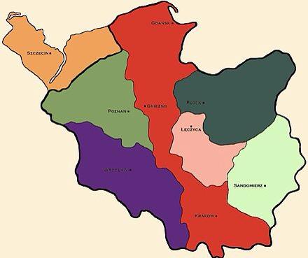 7つに分割された王国