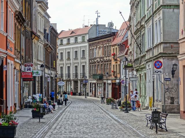 ビドゴシュシチュの街並