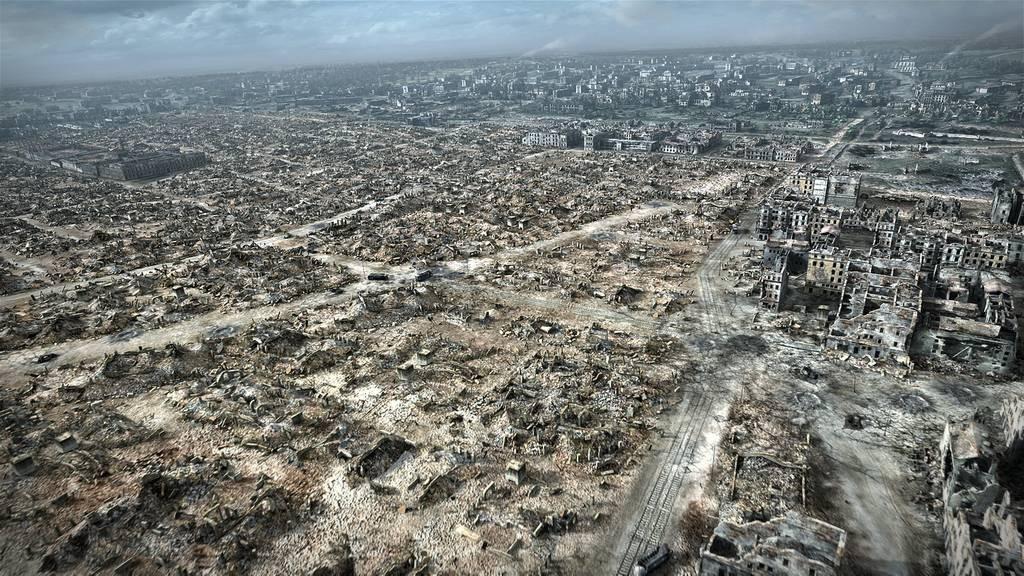 ドイツ軍に破壊されたワルシャワ