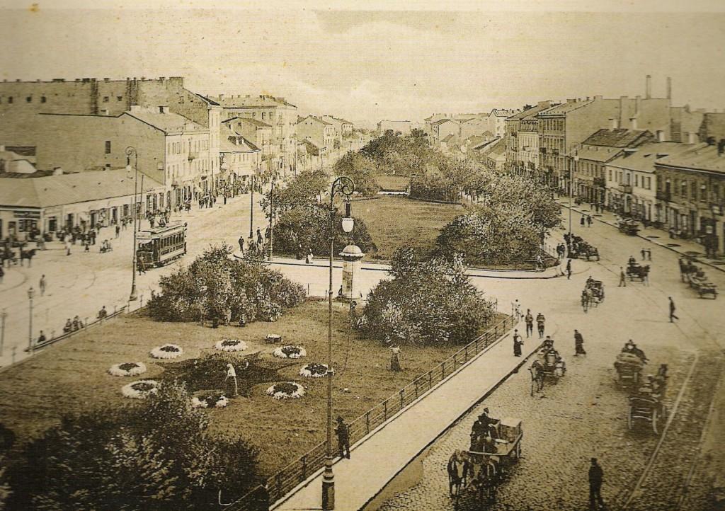 19世紀のワルシャワ