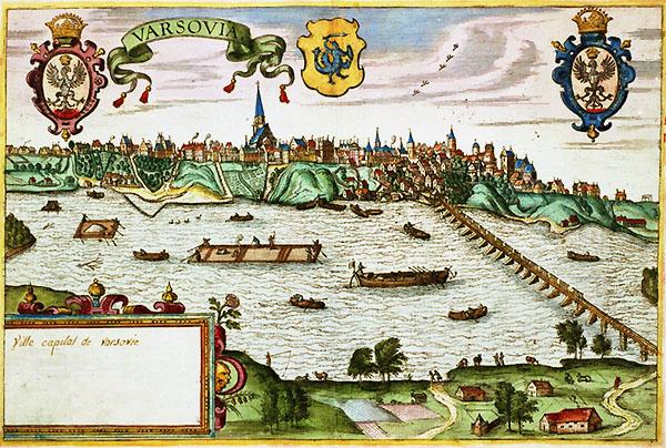 16世紀のワルシャワ