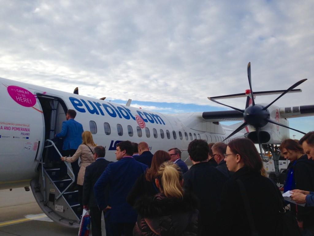 こんな飛行機に乗りました