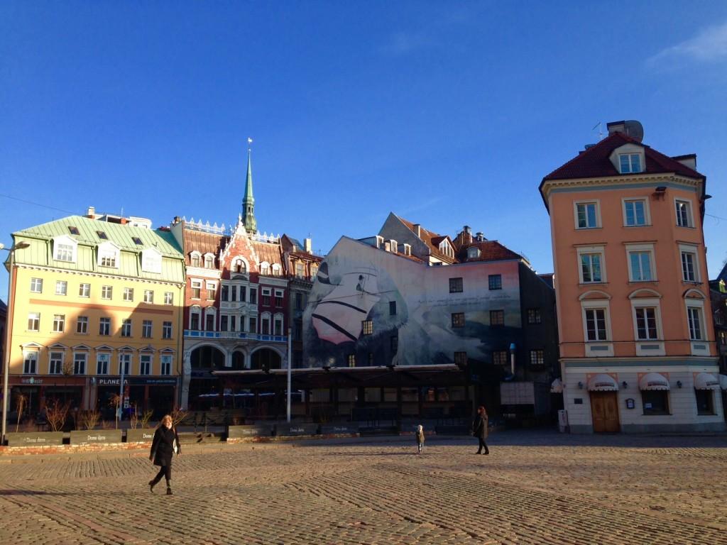 中欧と変わらない街並