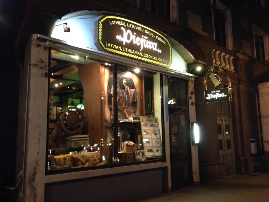 観光客に大人気のレストラン