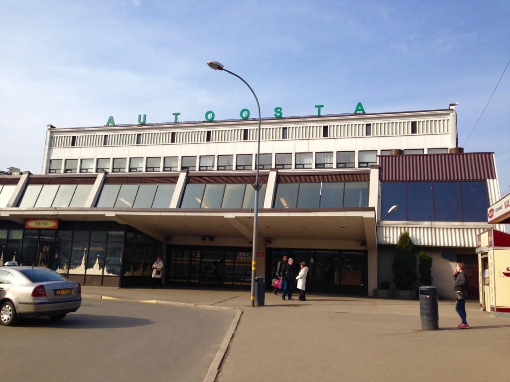 バスターミナルの外観