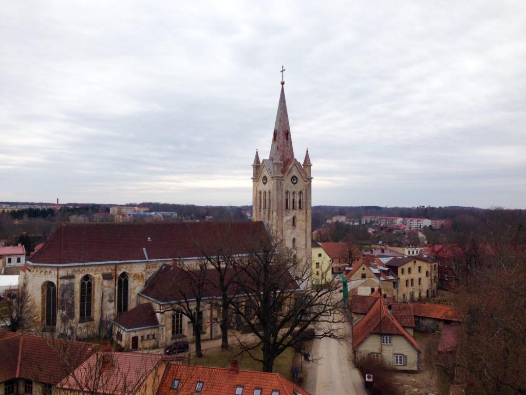 真ん中は聖ヨハネ教会