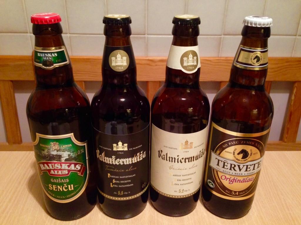 ラトビアのローカルビール