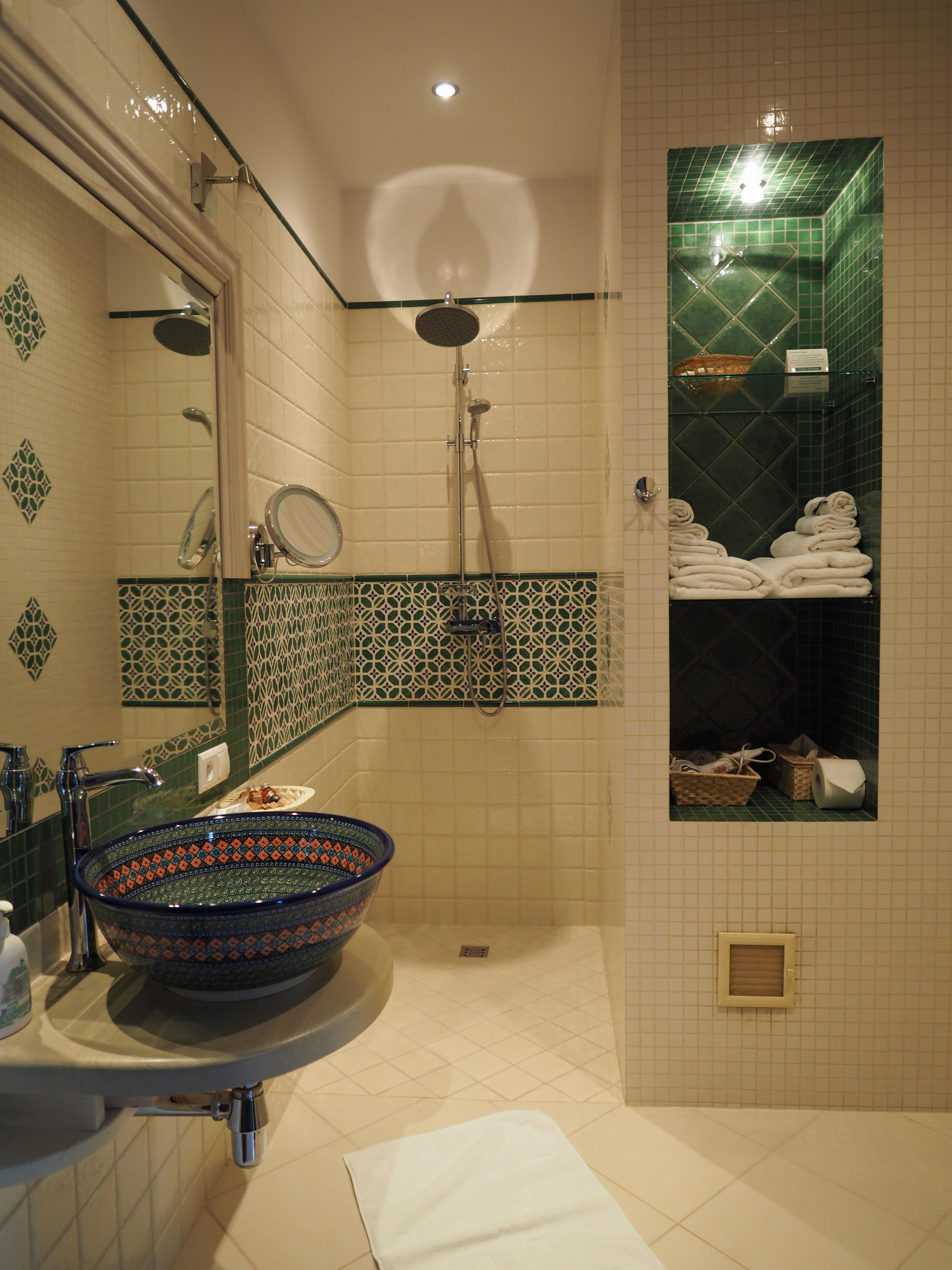 シャワーのみでも素敵な雰囲気