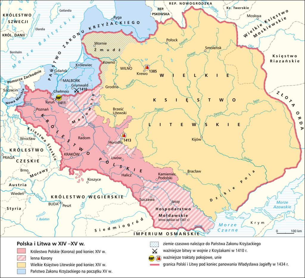 14世紀のポーランドとリトアニア