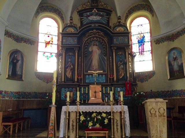 教会一番のメインである祭壇