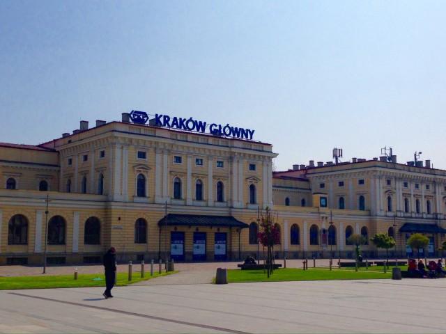 クラクフ中央駅 Kraków Główny