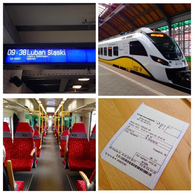 ボレスワヴィエツへの列車