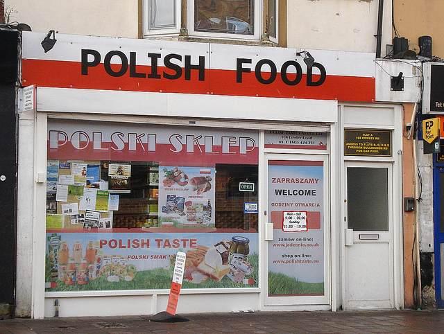 イギリスのポーランドのお店 by