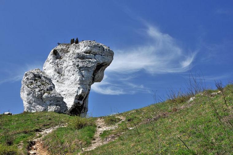 ジュラ山地の残丘