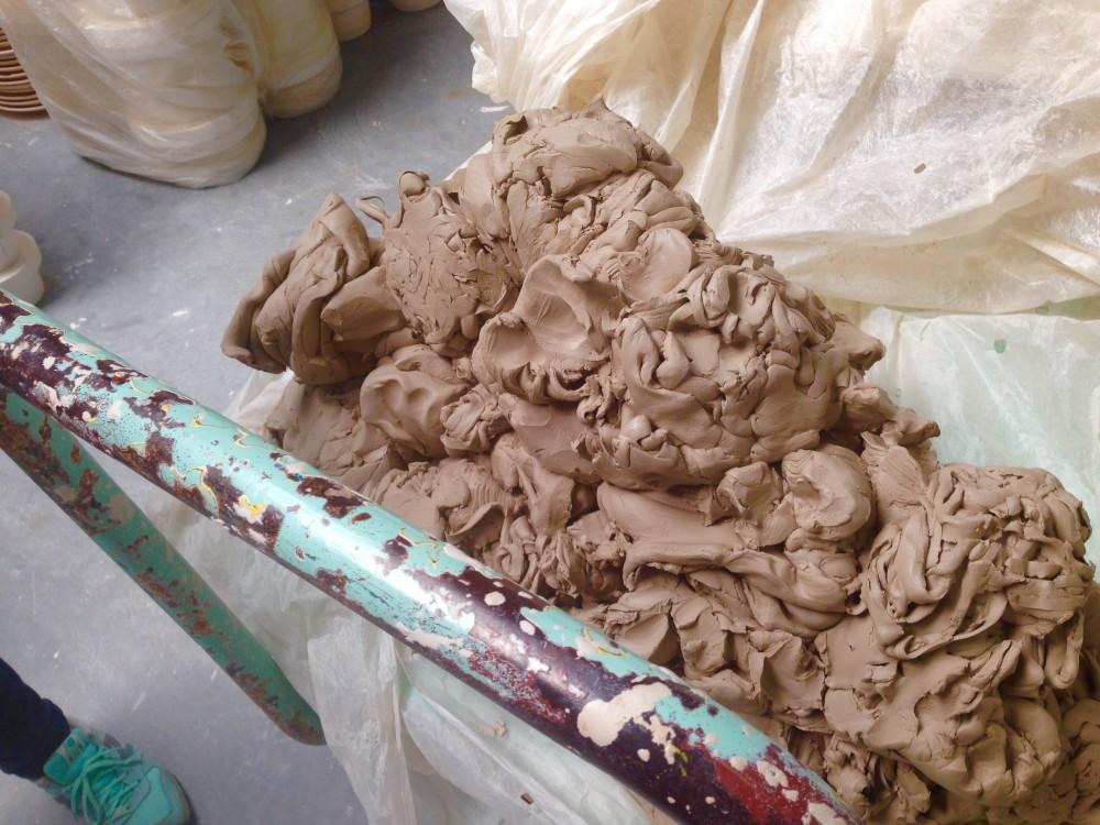ボレスワヴィエツの地でとれた粘土