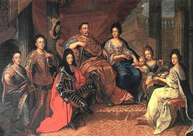 ヤン3世とマリア、その家族