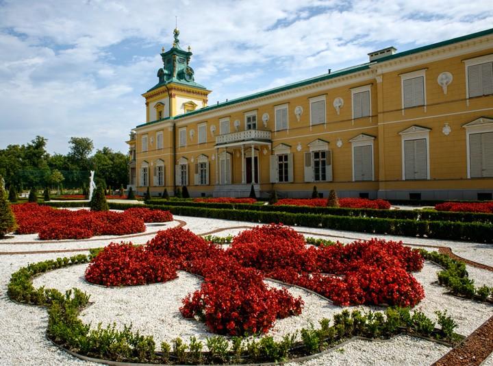 ワルシャワのヴィラヌフ宮殿