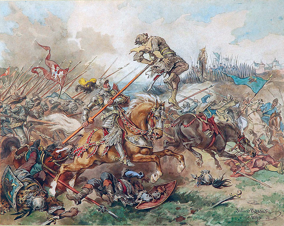 painting by Juliusz Kossak
