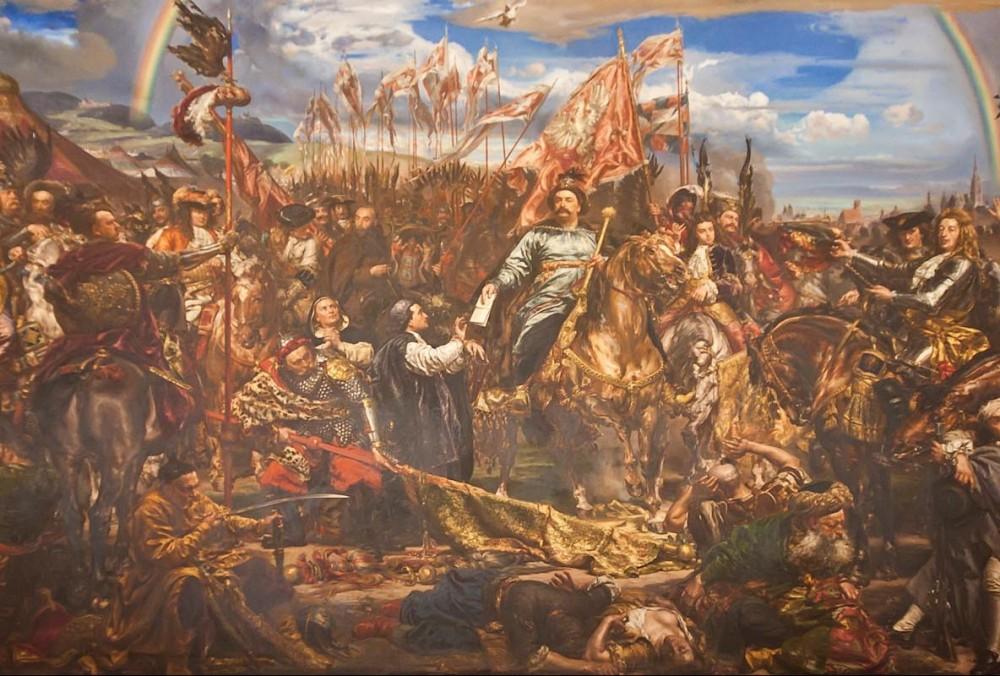 ローマ教皇に勝利の手紙を送るヤン3世