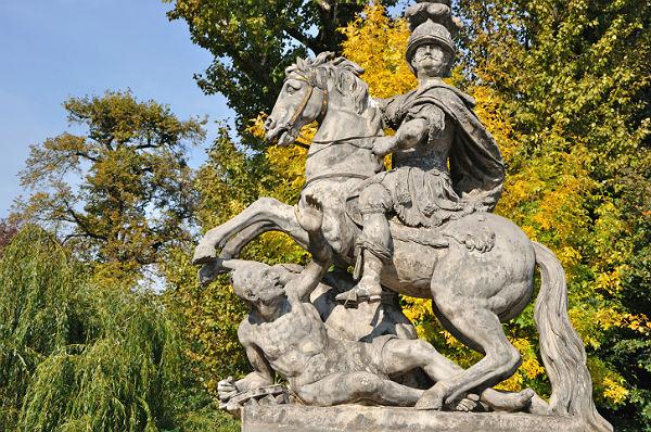 ヤン3世ソビエスキの像