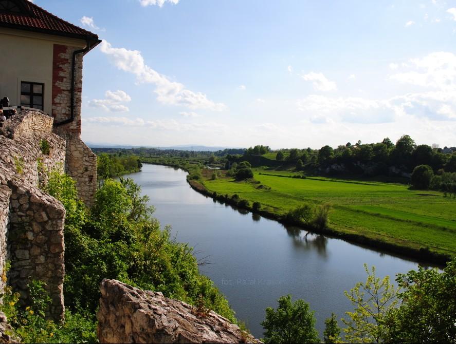 ヴィスワ川とのどかな風景