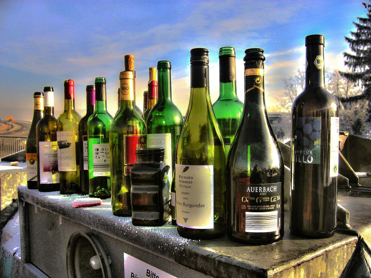 アルコールは海外の方が種類も多いけど…