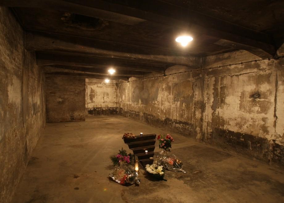 アウシュヴィッツのガス室