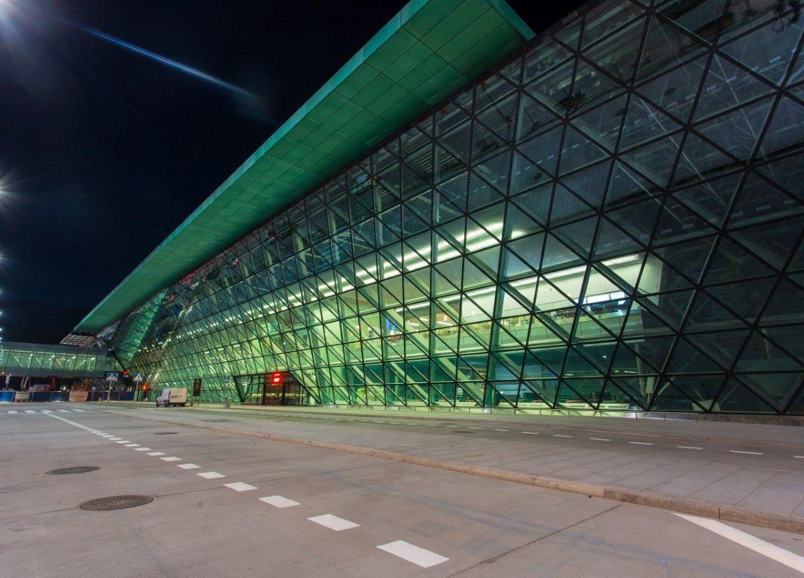 リニューアルしたクラクフ空港