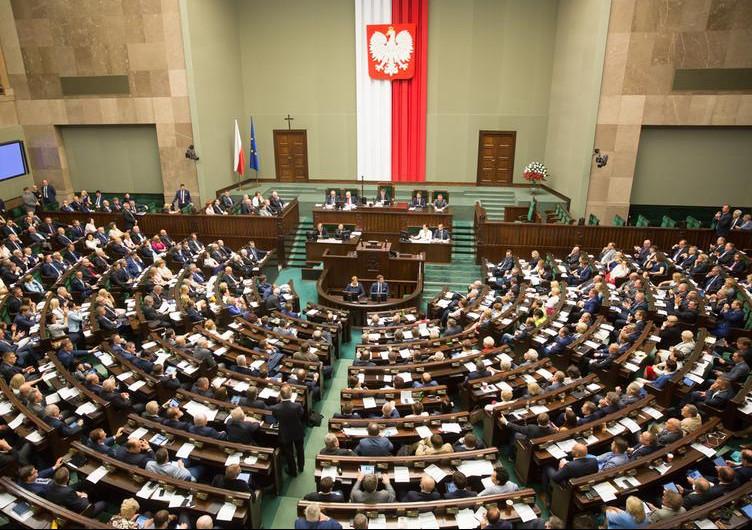 ポーランドの国会 Sejm
