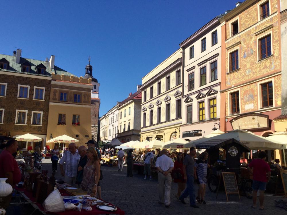 ルブリン旧市街の街並3