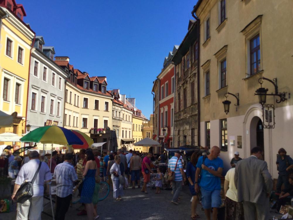 ルブリン旧市街の街並
