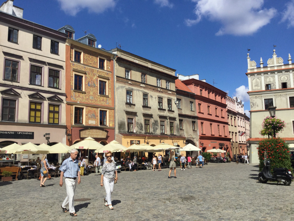 ルブリン旧市街の街並2