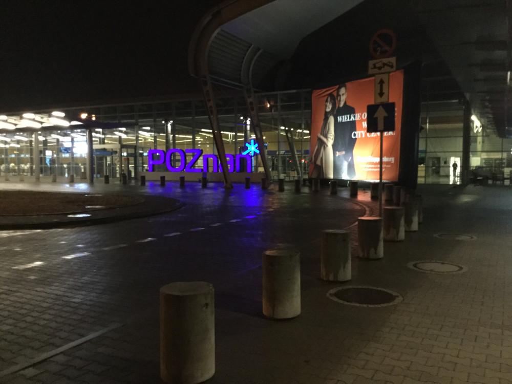 ポズナン空港の外観