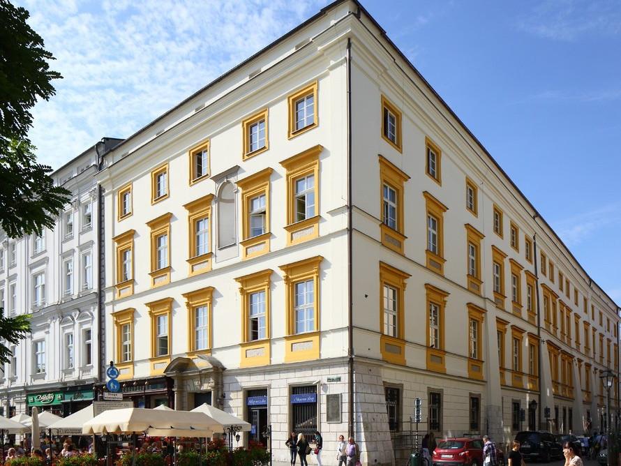 中央広場にある Pałac Krzysztofory