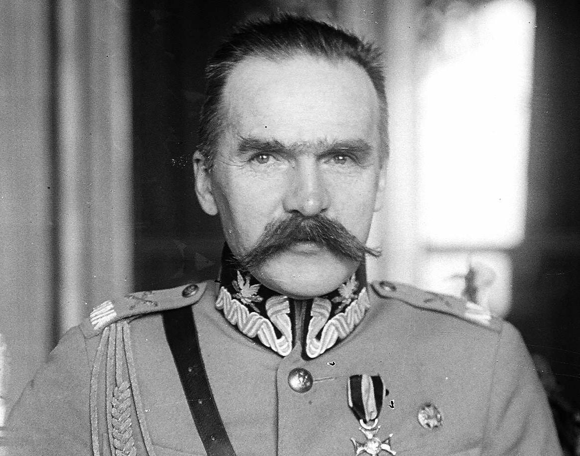 独立運動を指導したユゼフ・ピウスツキ
