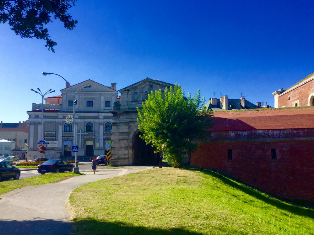 旧市街への入り口 旧ルヴォフスカ門
