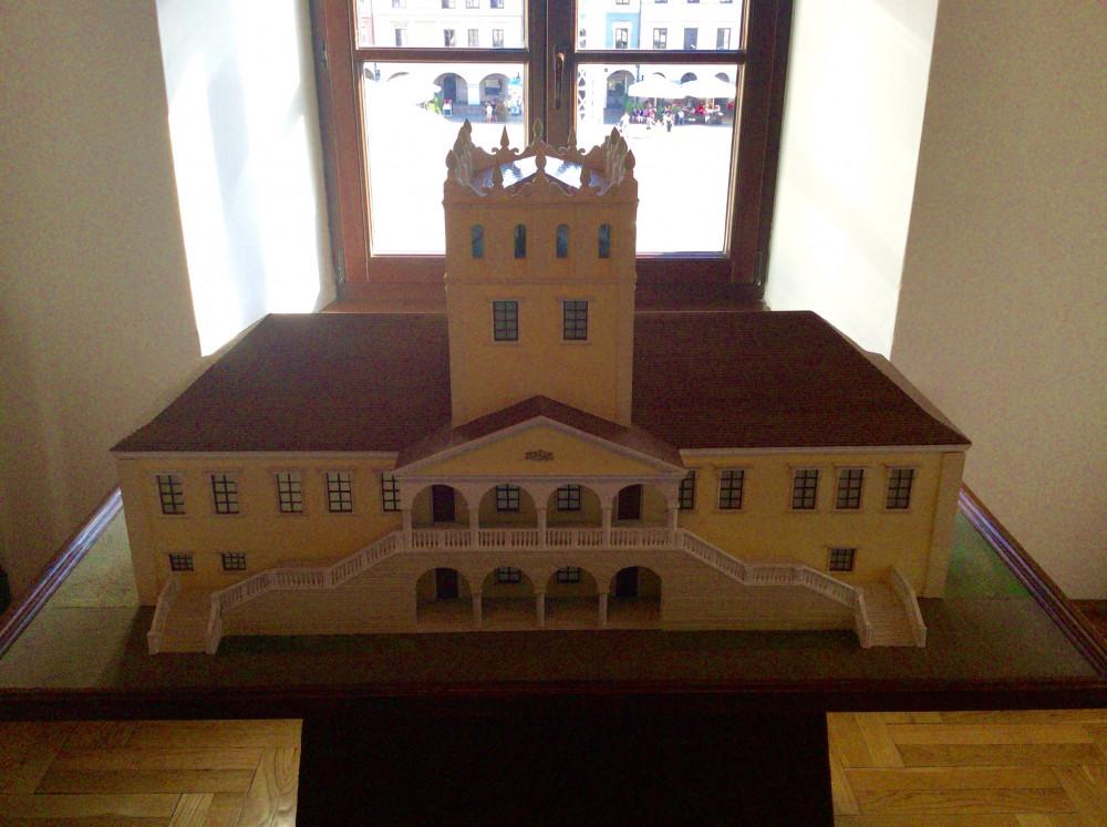 改築される前のザモイスキ宮殿