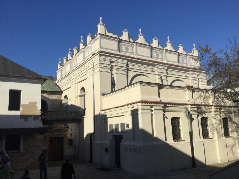 ザモシチの歴史あるシナゴーグ