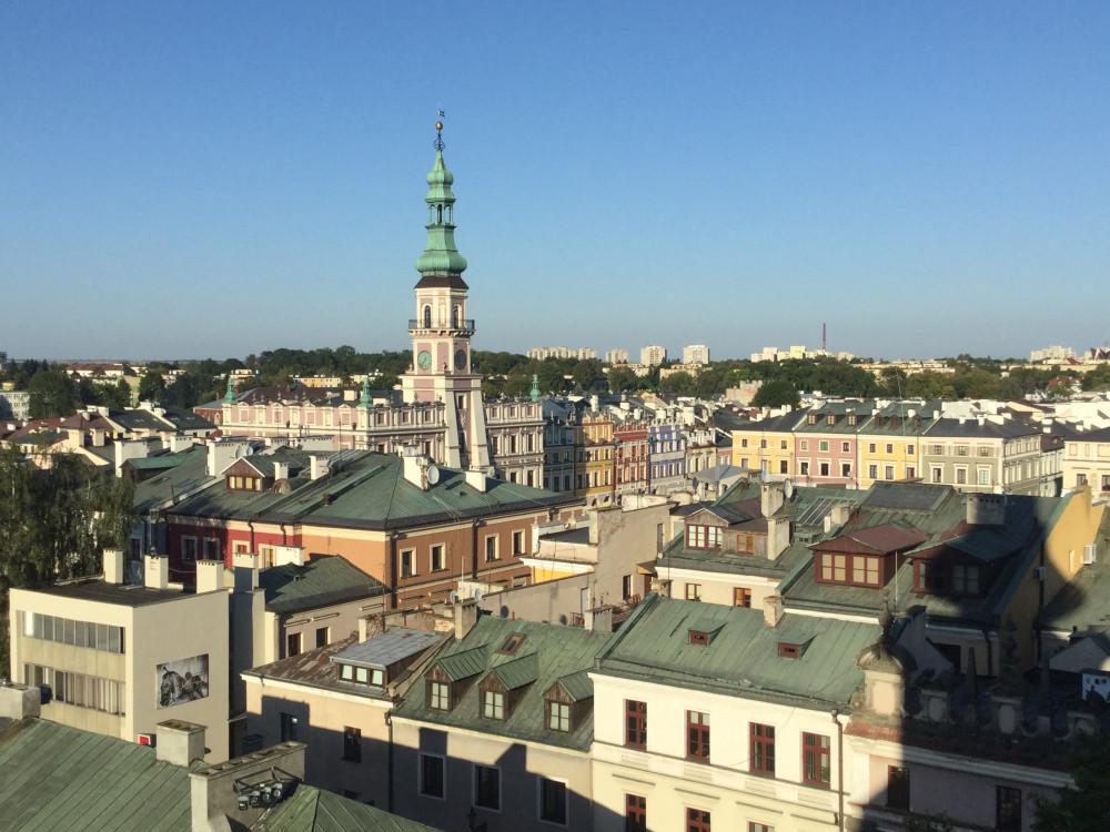 大聖堂のベルタワーから撮影