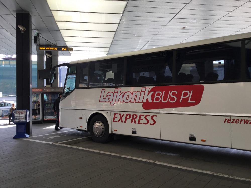 """""""Lajkonik"""" のバスが1番おすすめ"""