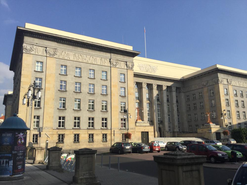 カトヴィツェのシロンスク県役所