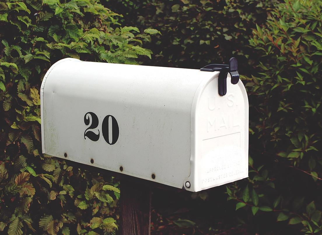 確認メールは要保護