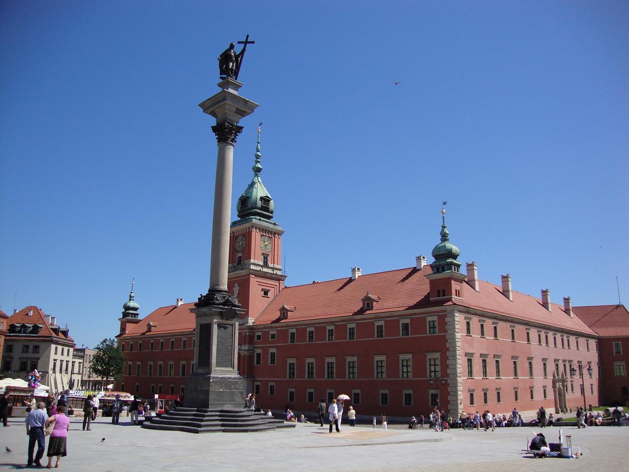 ワルシャワ王宮と王宮広場