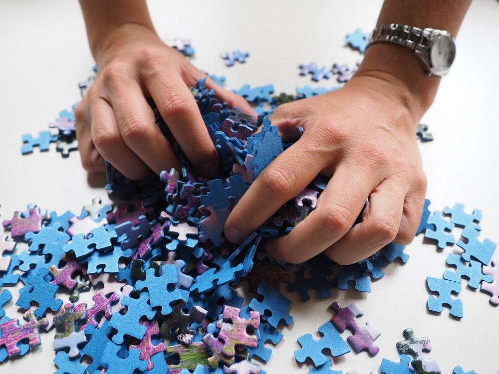 英単語はパズルのピースみたいなもの