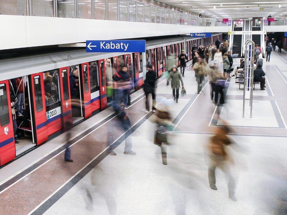 ワルシャワの駅