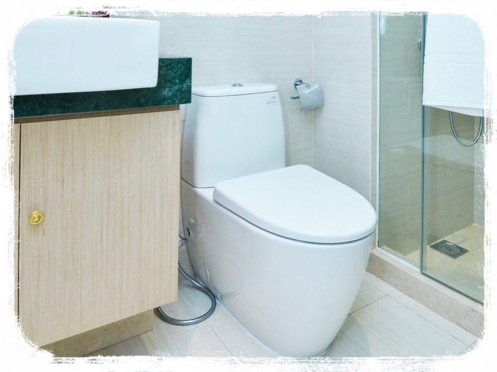 典型的なバスルーム