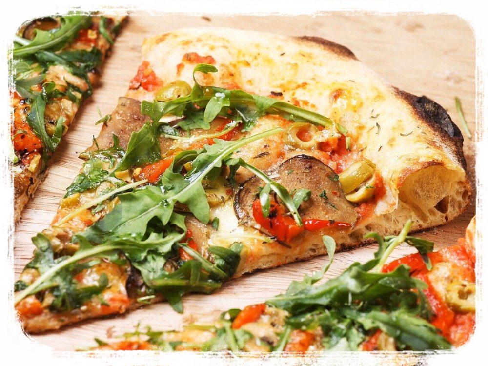 ピザ用の小麦粉